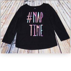 Okie Dokie #Nap Time Long Sleeve T-Shirt